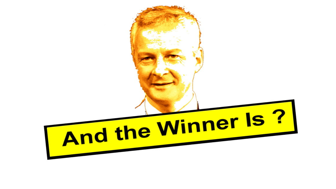 And the winner is… Bruno Le Maire !