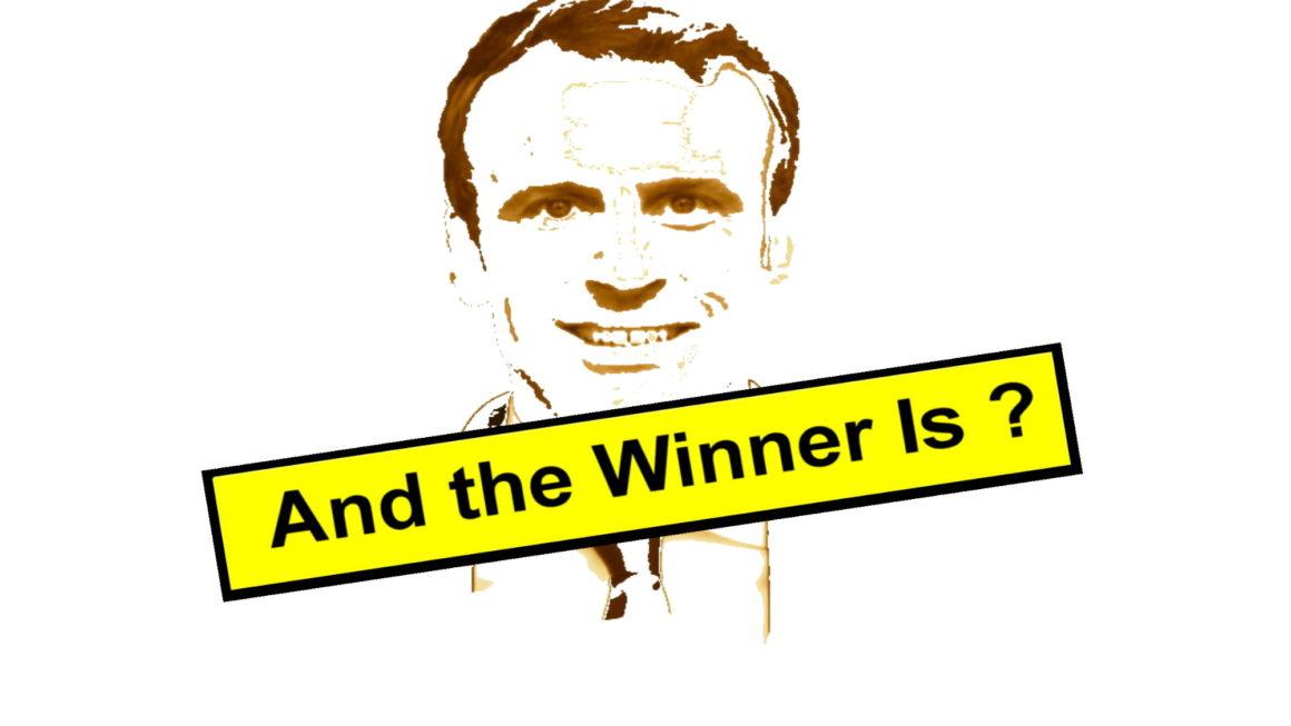 And the winner is… Emmanuel Macron !